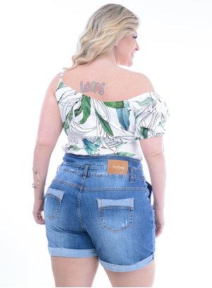 Blusa Plus Size Gardênia