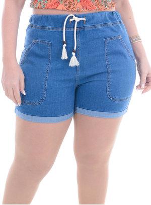 Shorts Jeans Plus Size Jade