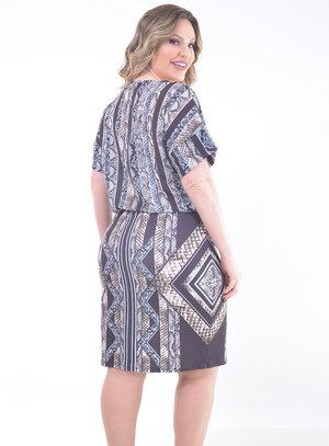 Vestido Plus Size Contadora