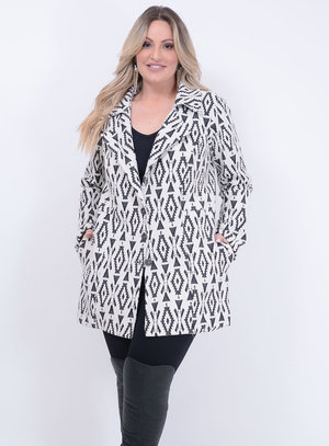 Trend Coach Brocado Plus Size