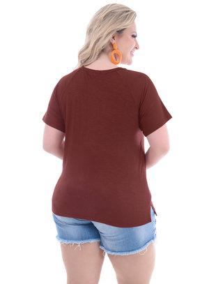 Blusa Plus Size Moderna