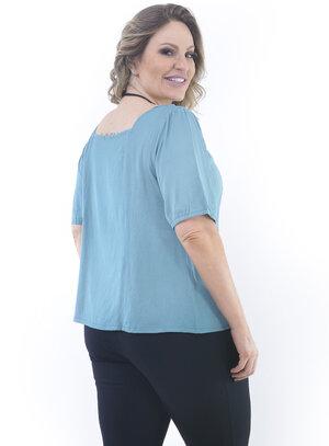 Blusa Plus Size Sentir