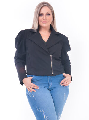 Jaqueta Perfecto Plus Size
