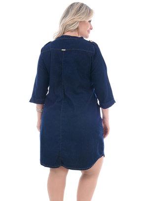 Vestido Plus Size Abacate