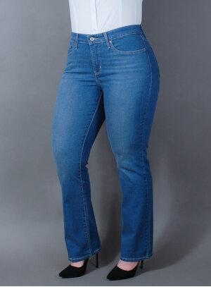 Calça Levi's Jeans Feminina 314 Straight Média
