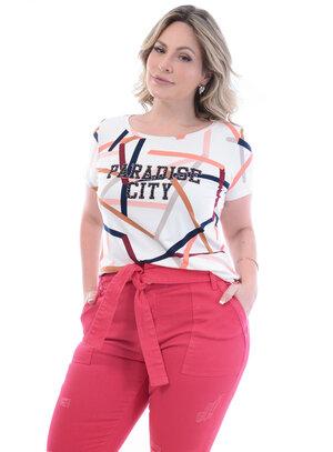 T-Shirt Plus Size Paradise