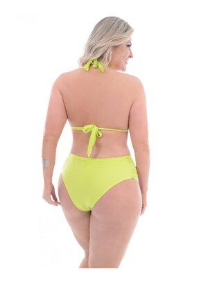 Biquíni Plus Size Renda Verde