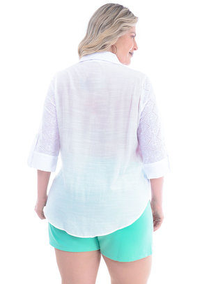 Camisa Plus Size Parceira