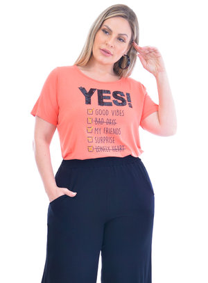 T-Shirt Plus Size Singapura