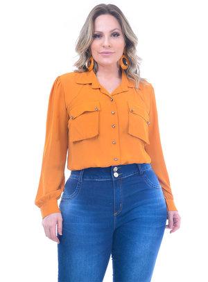 Camisa Plus Size Tibetano