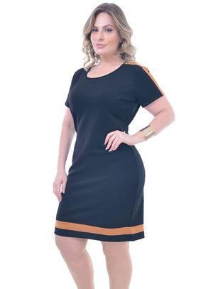 Vestido Plus Size Déli