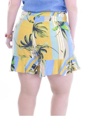 Shorts Saia Plus Size Estação