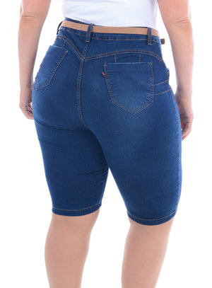 Bermuda Jeans Plus Size Jambo