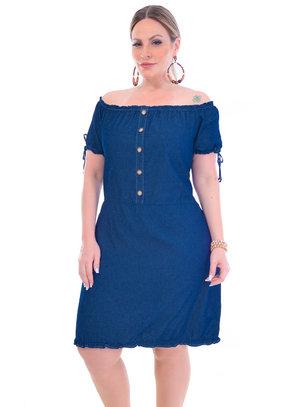 Vestido Plus Size Celeste