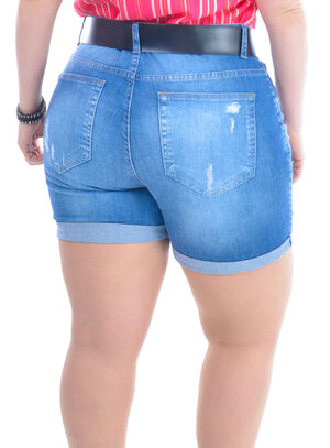 Shorts Plus Size Margarida