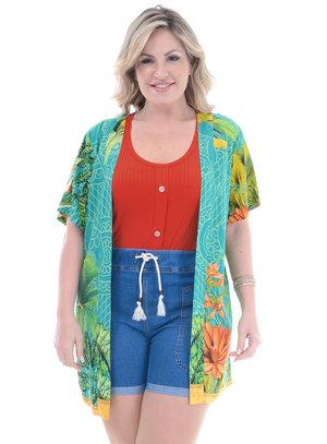 Kimono Plus Size Rubi
