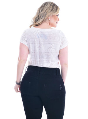 Blusa Plus Size Gerona