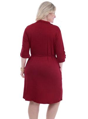 Vestido Plus Size Kaula
