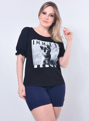 Blusa Plus Size Dogue