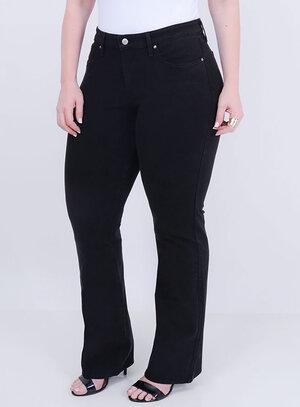 Calça Levi's Jeans Feminina 315 Shaping BootCut Preta
