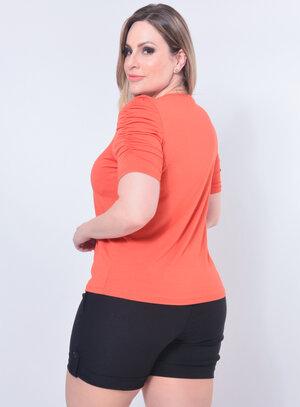 Blusa Plus Size Paetês