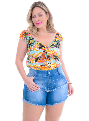 Blusa Plus Size Margarete