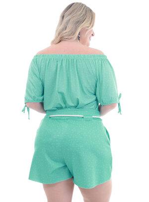 Blusa Plus Size Croácia