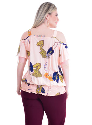 Blusa Plus Size Nova York