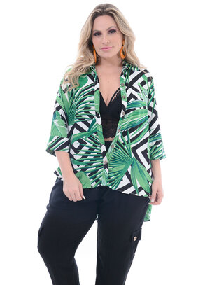 Camisa Plus Size Lady