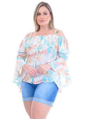 Blusa Plus Size Aretha