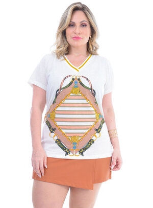 T-Shirt Plus Size Gilda