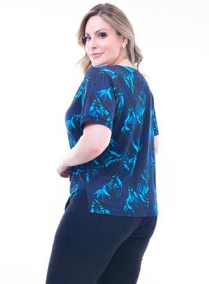 Camisa Plus Size Floral