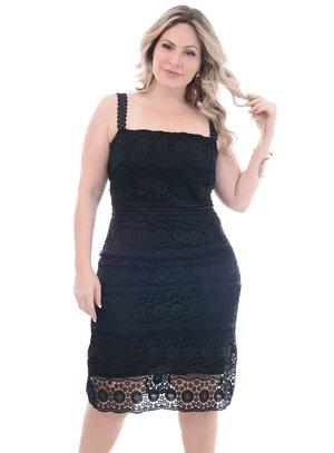 Vestido Plus Size Mercúrio