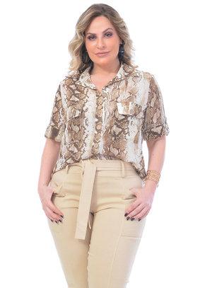 Camisa Plus Size Fernanda