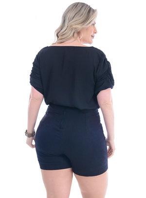 Blusa Plus Size Luminosa