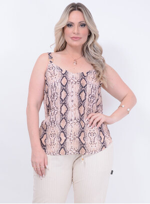 Regata Animal Print Cobra Plus Size