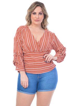Blusa Plus Size Holanda