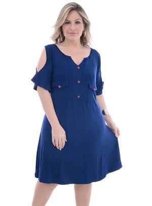 Vestido Plus Size Talita