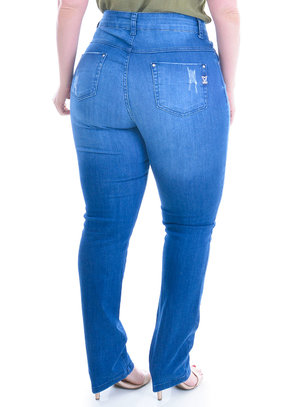 Calça Jeans Plus Size Messina