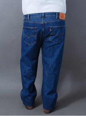 Calça Levi's Jeans Masculina 501 Original Fit Azul
