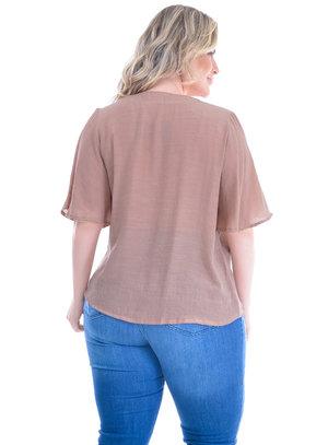 Camisa Plus Size Almería