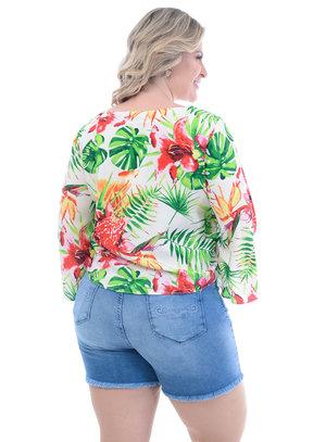 Blusa Plus Size Gisele