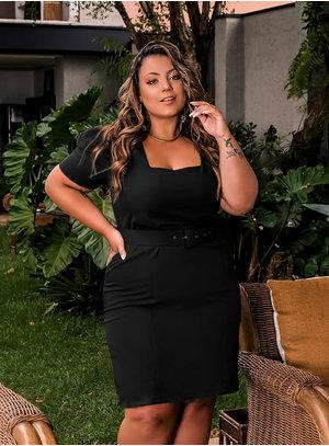 Vestido Plus Size Luciana