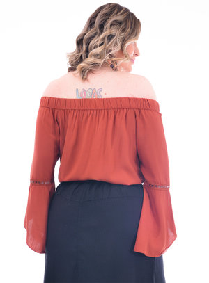 Blusa Plus Size Olíbano