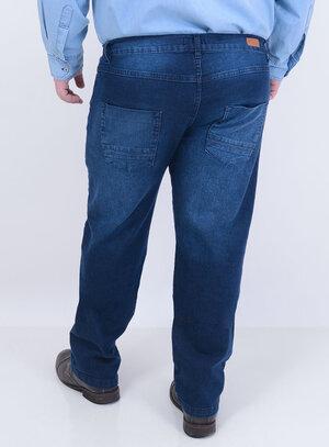 Calça em Jeans com Elastano Reta Stone Masculina