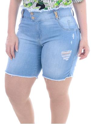 Bermuda Jeans Plus Size Ar