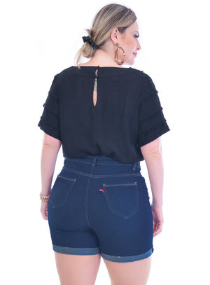 Blusa Plus Size Princesa