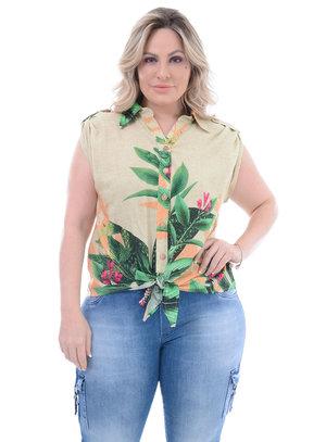 Camisa Plus Size Escorpião