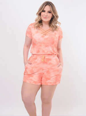 Conjunto Plus Size Strappy