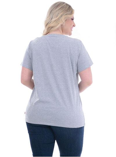 T-Shirt Plus Size Levi's Cinza